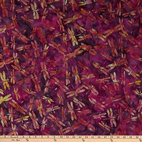 - Island Batik British Rose Dragonfly Iris Fabric by The Yard