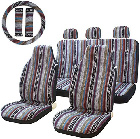 Stripe Multi Color Blanket Universal Steering product image