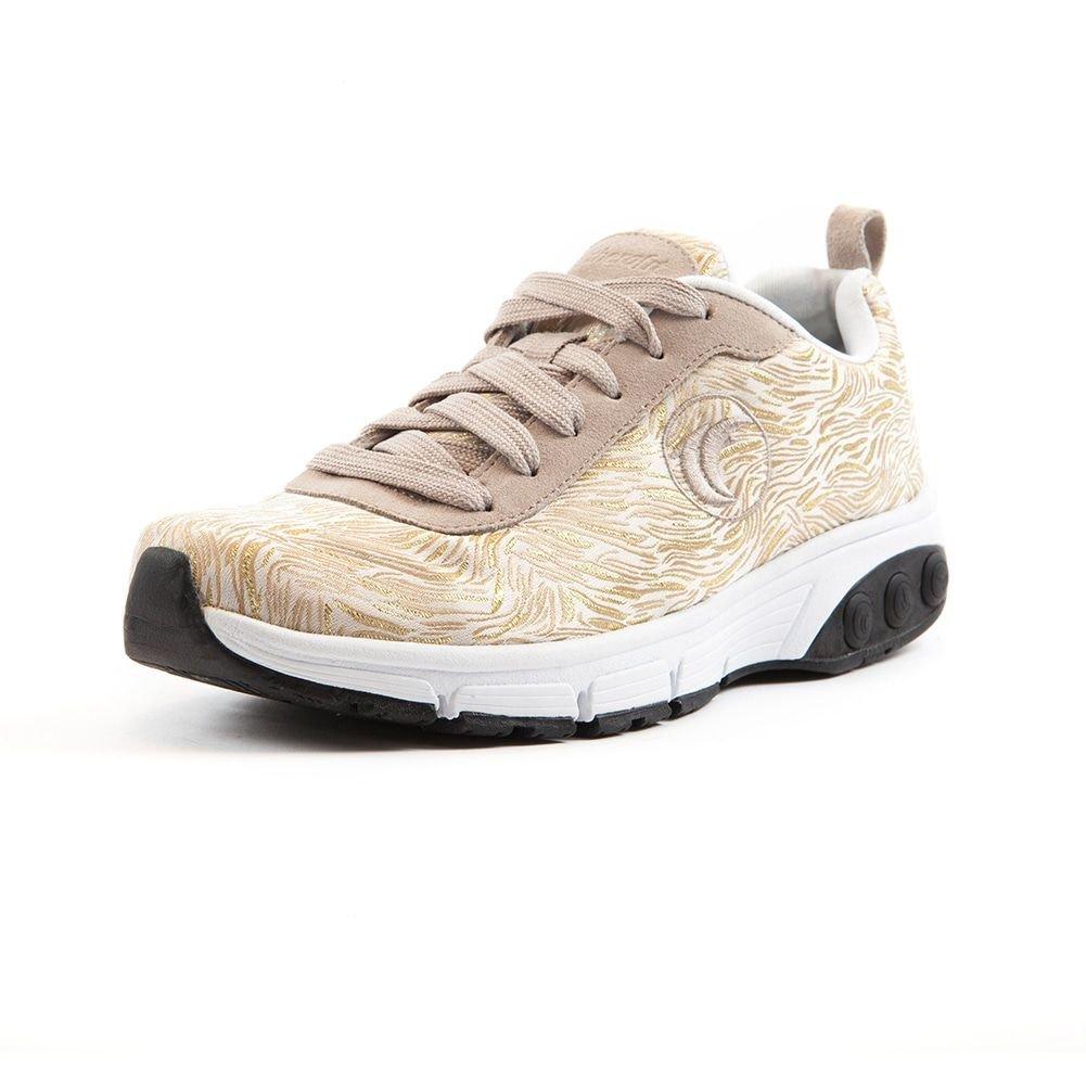Therafit Shoe Women's Paloma 's Fashion Athletic Shoe B00W6UAID6 10 B(M) US|Gold