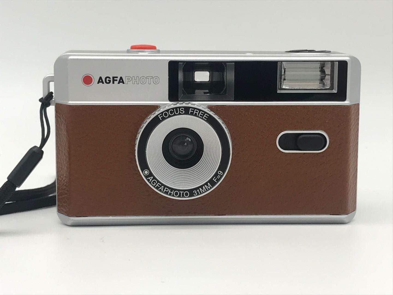 Agfaphoto 35mm Analoge Fotokamera Brown Kamera