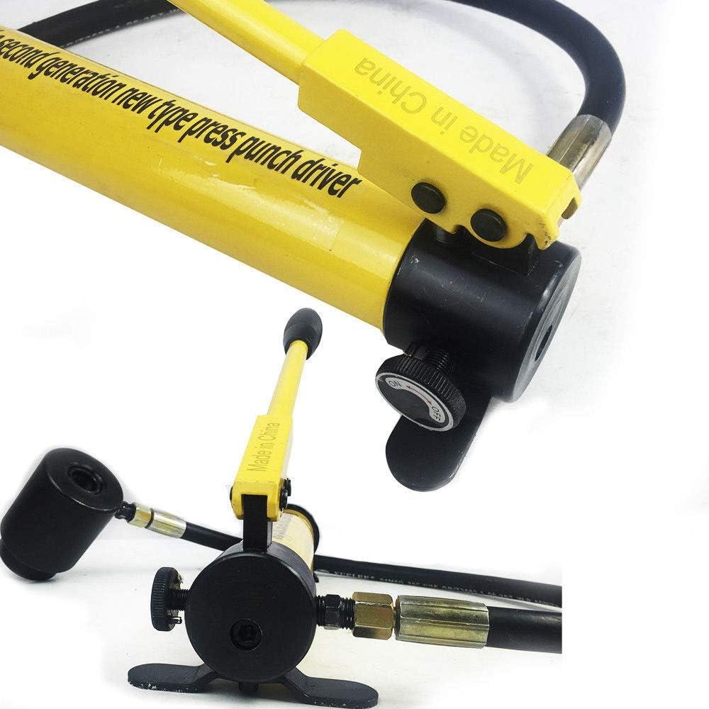 RANZIX 10T Hydraulische Lochstanze Blechlocher Locheisen Hydrauliczne Werkzeuge 22-60mm