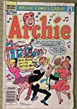 May 1985 ARCHIE Comic Book No335 of The Archie Series Close Up Inc.