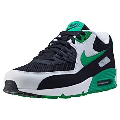 c528c888d Nike Air Max 90 Essential Mens Trainers Black White Green - 6 UK ...