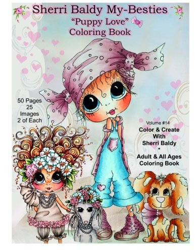 Sherri Baldy My Besties TM Puppy Love Coloring Book