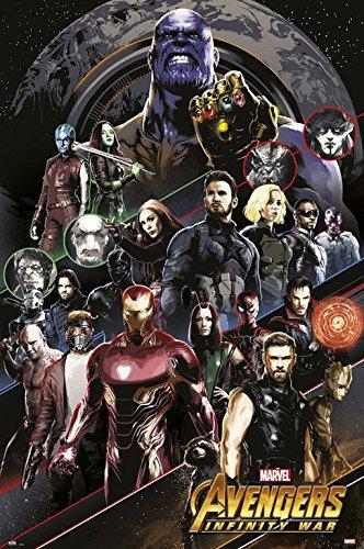 POSTER STOP ONLINE Avengers: Infinity War - Movie Poster/Pri