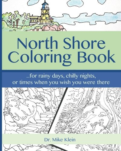 amazoncom north shore coloring book 9781542860871 dr mike klein books - Dr Who Coloring Book