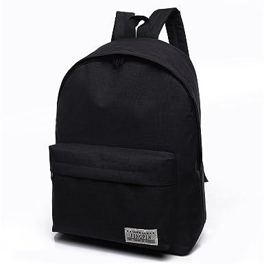 Canvas Shoulder Bag Female School Student Bag Korean Tide Small Fresh College  Wind Backpack Male Travel 403ddb237614d