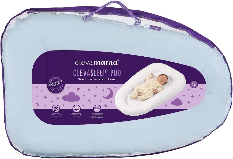 Reductor de Cama Nido para Beb/és Azul Clevamama