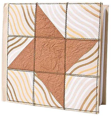 Quilt Journal Mocha Star (Quilt Journals) ()