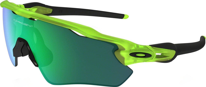 Oakley Boys' Radar Ev Xs Path Non-Polarized Iridium Rectangular Sunglasses, Matte Uranium, 31 mm by Oakley