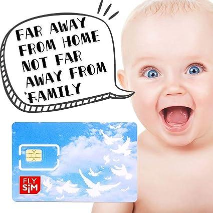 Amazon.com: Tarjeta SIM de prepago ilimitada 4G/LTE Datos ...