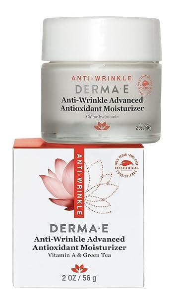 Anti-Wrinkle Advanced Antioxidant Moisturizer - 2 oz. by DERMA-E (pack of 6) Burts Bees Beeswax Lip Balm Tin - Blister Box