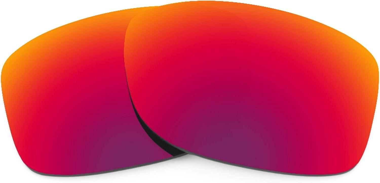 Revant Verres de Rechange pour Oakley Jupiter Squared - Compatibles avec les Lunettes de Soleil Oakley Jupiter Squared Soleil de Minuit Mirrorshield - Polarisés