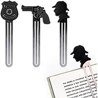Balvi - Thriller Set de 3 marcapáginas temáticos. Ideales para Amantes de Las novelas de Misterio y policiacas. La Caja…