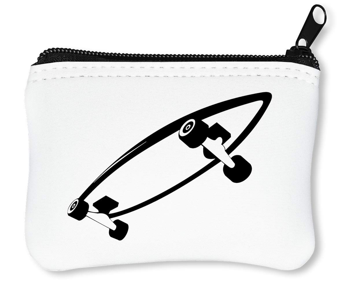 Black Skateboard Dope Graphic Billetera con Cremallera Monedero Caratera: Amazon.es: Equipaje