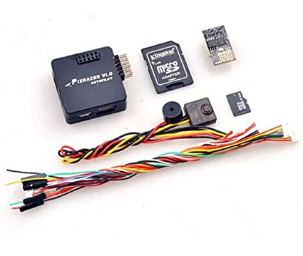 BGNing Mini PX4 Flight Controller Board Pixracer Autopilot Xracer FMU V4  V1 0 for DIY FPV Drone 250 RC Quadcopter Multicopter (Black)