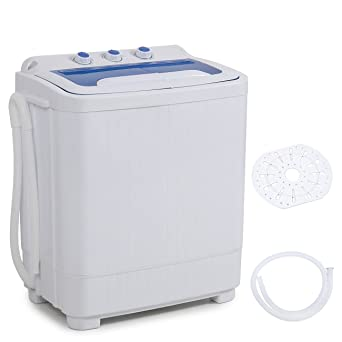 Della Mini Washing Machine Portable Compact Washer And Spin Dry Cycle With  BUILT IN PUMP