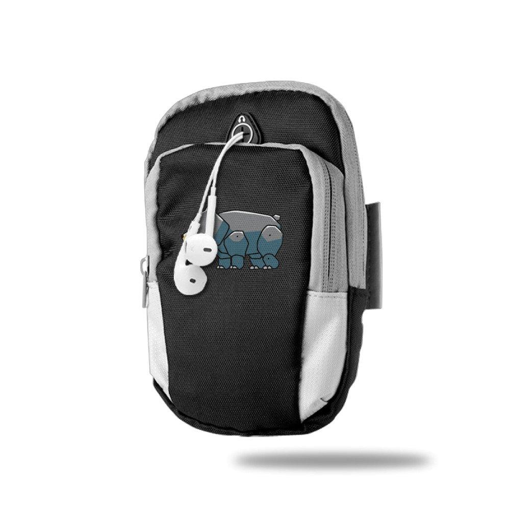 Amazon.com : GAVI Black Bear Portable Running Arm Bag Black : Sports & Outdoors