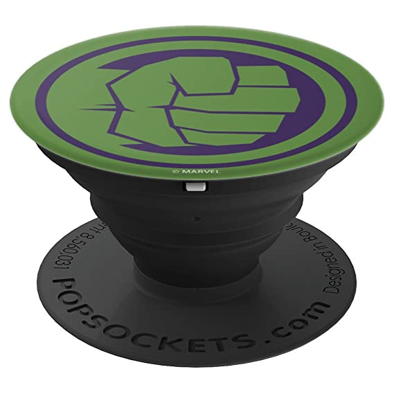 Amazon Marvel Hulk Fist Tonal Green Icon Popsockets Grip And