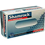 Shamrock 80114-XL-bx Food, Work, Nitrile Latex, No Powder, Thin, Cheap, X-Large, Blue