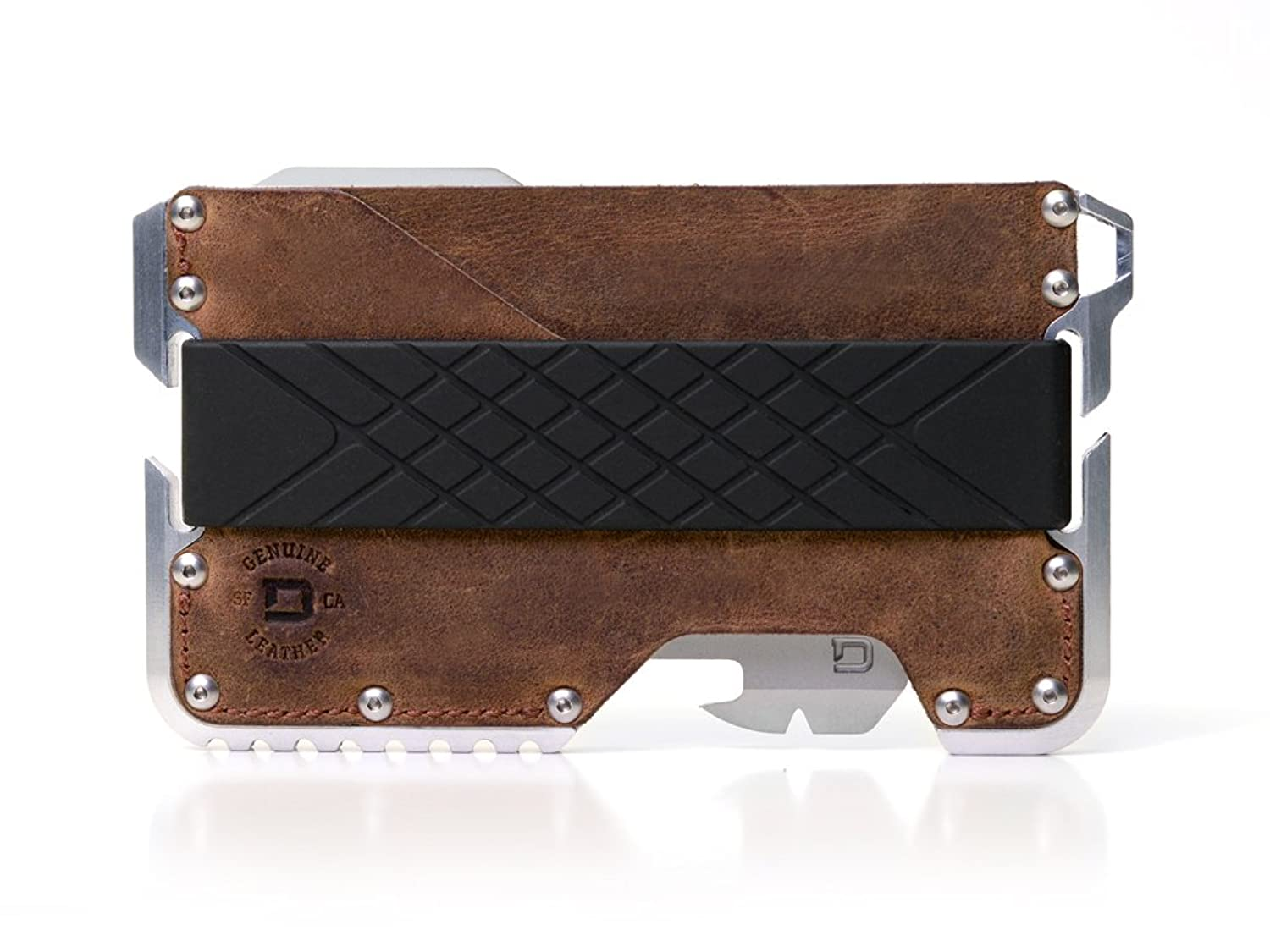 Dango Tactical Edc Wallet Made In Usa Genuine Leather Multitool