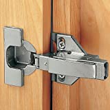 1/2 - 3/4 Overlay Blum® 120° Clip Top 3-Way Face Frame Hinges, Pair by Blum