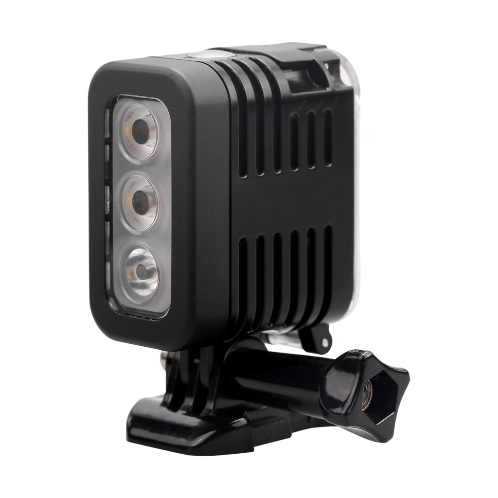 Baoblaze 30m 280 Lumens Waterproof High Power Dimmable LED Underwater Diving Light, Fill Light Night Light for Gopro Hero Action Cameras, Easy to Carry