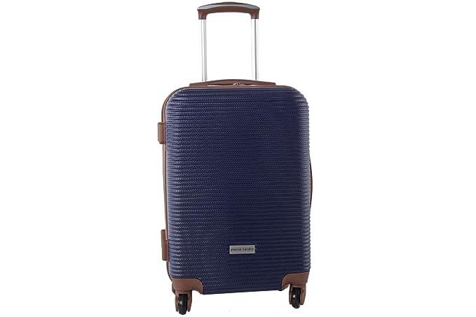 a3c4d4053e0 Maleta rígida PIERRE CARDIN azul mini equipaje de mano ryanair S322   Amazon.es  Ropa y accesorios