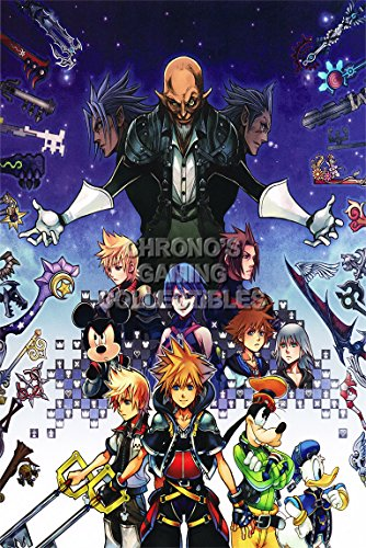 CGC Huge Poster - Kingdom Hearts PS2 PS3 - KHT011 )