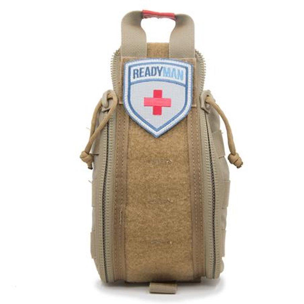 READYMAN E-FAK Emergency First Aid Kit (Tan)