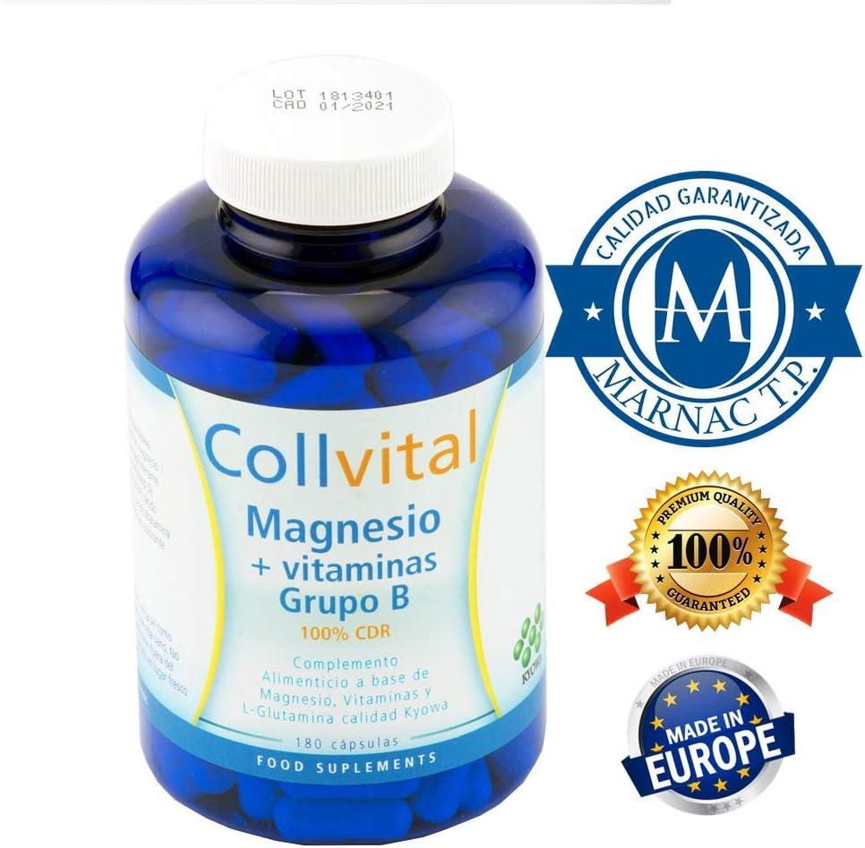 Magnesio + Vitaminas para el cansancio de grupo B + Glucosamina ...