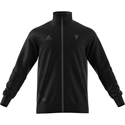 089b66ac9 Image Unavailable. Image not available for. Color  adidas 2018-2019 Man Utd  Seasonal Specials Track Jacket ...