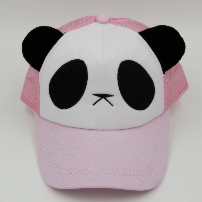 Amazon.com: BenKPooaK Summer Cartoon Panda Net Cap Cotton Mesh Baseball Cap 5 Panel Casquette Snapback Gorras Sunhat Topee for Men Pink: Clothing
