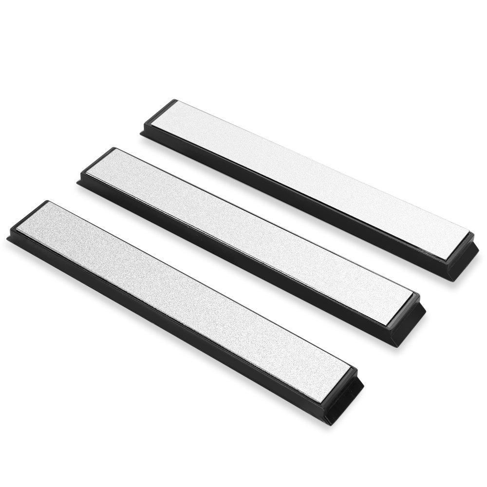 3pcs/lot Kitchen Tool Knife Sharpener Edge Diamond Whetstone Sharpening Stones