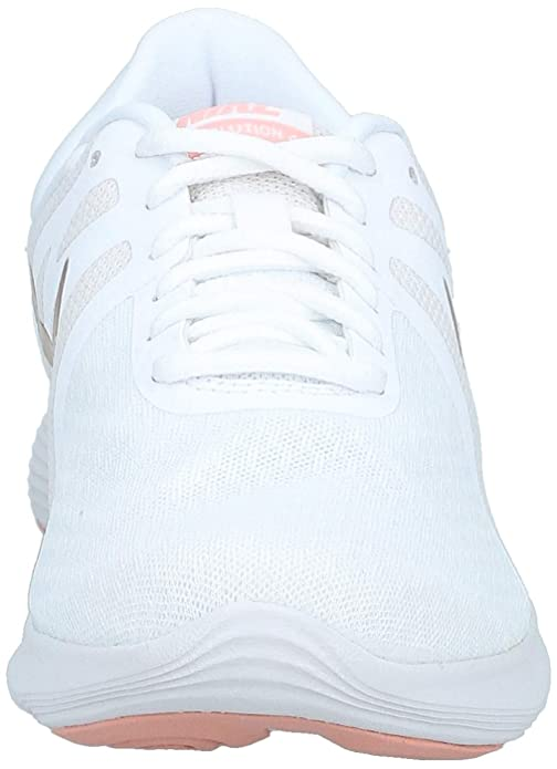 Nike Womens Revolution 4 Running Shoe, Mujer, Azul (Half Blue/Black/Wolf Grey/White 407), 38 EU: Amazon.es: Zapatos y complementos