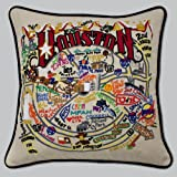 Catstudio Houston Pillow - Original Geography Collection Home Décor 071(CS)