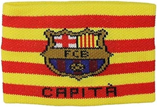 Brazalete Capitan FC Barcelona Color Señera Talla Adulto: Amazon.es: Deportes y aire libre