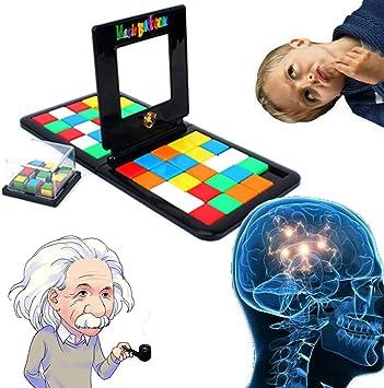 BBLAC 2KEY Mac Due Italy Rompecabezas de Puzzle y rapidez Cubo de Race Juego de Mesa del Cubo pequeño Juego Divertido para Toda la Familia: Amazon.es: Juguetes y juegos