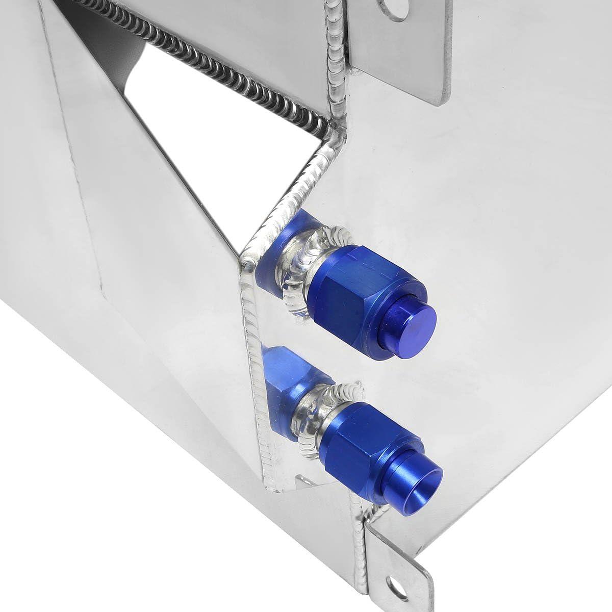 DNA MOTORING ALU-FT-T5-RD Aluminum 15.5-Gallon Fuel Cell Gas Tank
