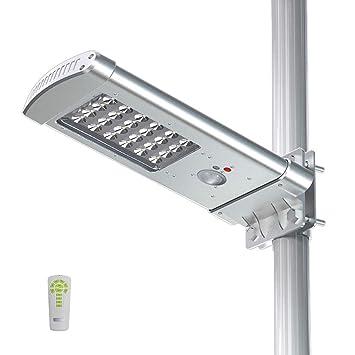 TSSS impermeable Solar calle luz Sensor de movimiento luz 24LEDs área de camino luz inalámbrica luz