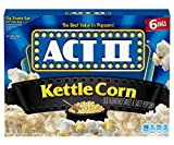popcorn act 2 - Act II Popcorn Kettle Corn, 6 Count (Pack of 6)