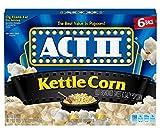 popcorn act ii - Act II Popcorn Kettle Corn, 6 Count (Pack of 6)