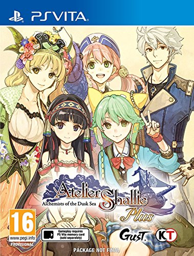 [Atelier Shallie Plus: Alchemists of the Dusk Sea (Playstation Vita),] (The Legend Of Heroes Trails Of Cold Steel Costumes)
