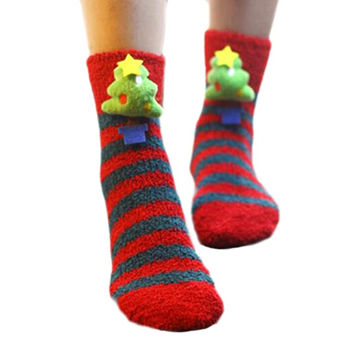 Un par suave calcetines para dormir calcetines calcetines calcetines lindo piso-A08
