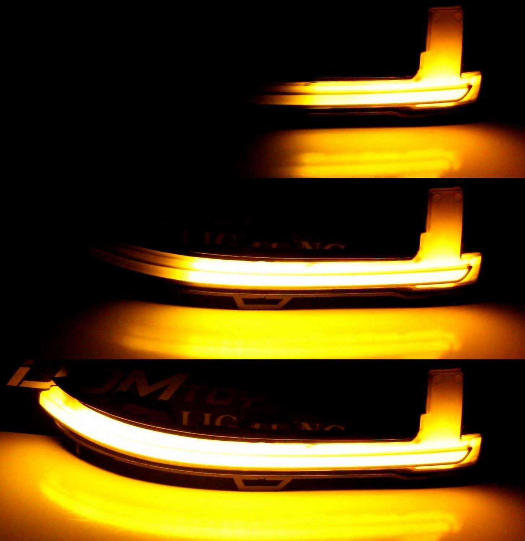 2 indicatori di direzione dinamici a LED per specchietto retrovisore X3 X4 X5 X6 F15 F16 F25