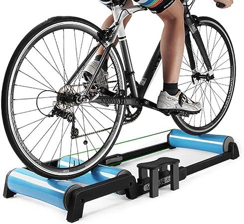 ZHLZH Rodillos de Entrenamiento de Bicicleta para Interiores, Ejercicio en casa, Rodillos de Bicicleta, Entrenamiento de Ciclismo, Entrenador de ...