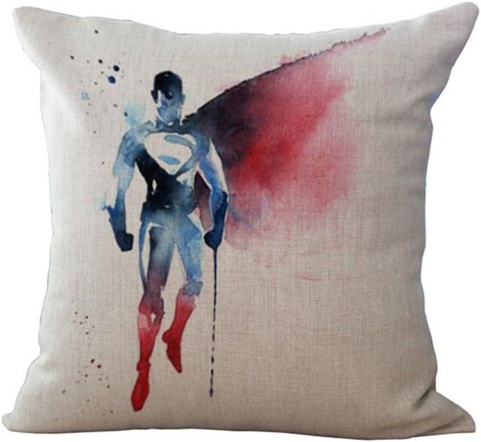 Superhero Decorative Throw Pillow Cases