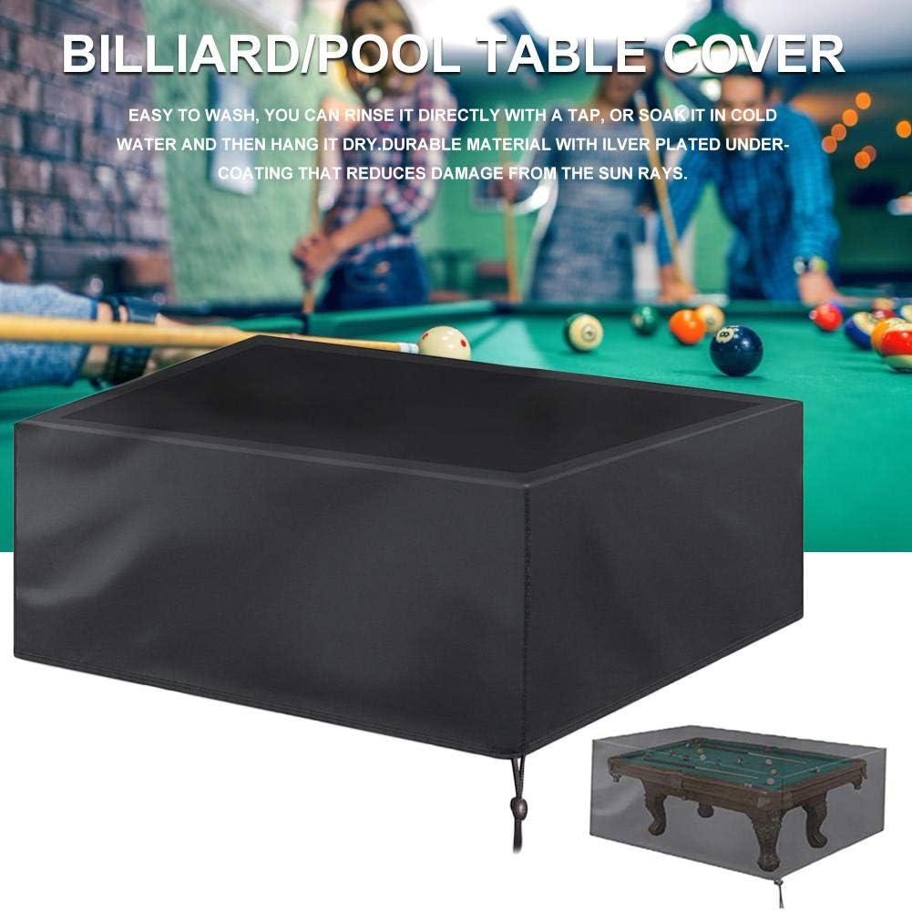 Funda para mesa de billar 7/8/9 pies cubre mesas billar cubierta ...