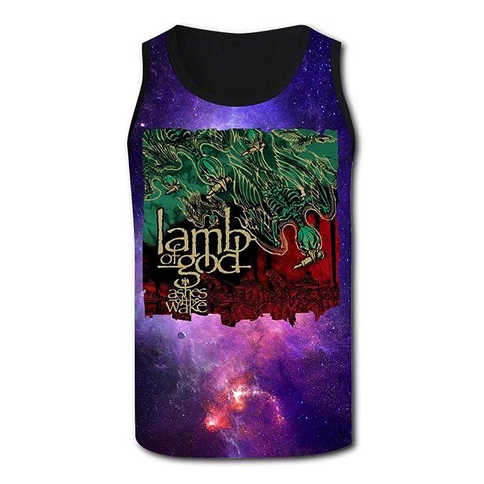 Amazoncom Lamb God Ashes The Wake Mens Sport Tank 3d Print Top