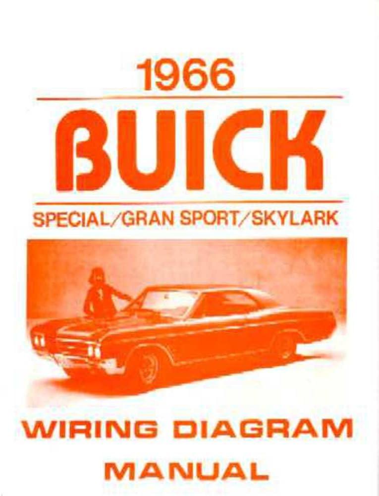 amazon.com: bishko automotive literature 1966 buick gran sport skylark  special electrical wiring diagram schematic manual: automotive  amazon.com